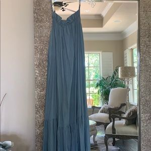NWOT H&M Dusty Green  Maxi Dress
